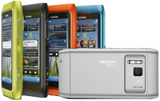 "Nokia N8 New Original Phone 3G WIFI GPS 12MP Camera 3.5"" 16GB"