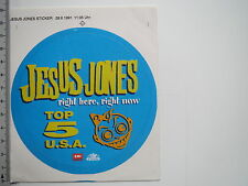Aufkleber Sticker EMI Germany - Jesus Jones - Top 5 USA  (M1630)