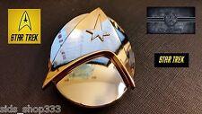 ✖ STAR TREK COMMAND LOGO INSIGNIA star fleet BELT BUCKLE Communicator Metal