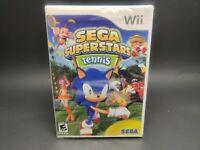 Sega Superstars Tennis Nintendo Wii New Factory Sealed  Sonic the Hedgehog AC