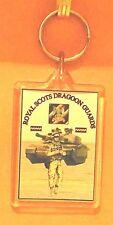 Royal Scots Dragoon Guards key ring..