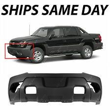 Textured Charcoal - Front Bumper Cover For 2003-2006 Chevy Avalanche w/ Cladding