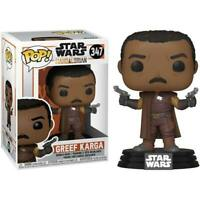 Funko POP! Star Wars The Mandalorian Greef Karga #347 Collectible Action Figure