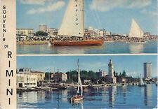 RIMINI - SOUVENIR - 2 VEDUTE - V 1970 - FG