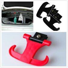 1 Pair Plastic Black 20KG Cargo Trunk Bag Hook Horns Holder Hanger Clips