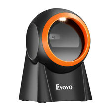 Eyoyo Hands Free 1d Desktop Barcode Scanner For Supermarket Warehouse Pos System