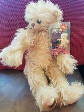 "Merrythought Bear Waggle Head Ironbridge Lmt #21 of 100 16"" made England"