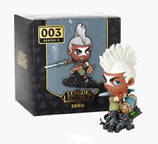 LOL League of Legends Ekko 003 PVC Action Figures Kids Boy Adult Collection Toy