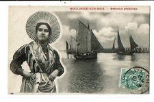 CPA-Carte Postale-FRANCE- Boulogne sur Mer- Bateaux de pêcheurs-1907 VM15037