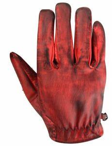 Gants de moto d'été, gants vintage, cuir rétro vintage, du S au 3XL