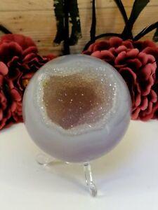 Agate Druzy Sphere