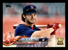 2018 Topps Photo Variations #556A Andrew Benintendi Blue Pullover SP (re 57585)