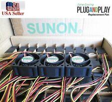 XP166 Quiet Dell PowerConnect 2748 Fan Kit, 3xFans 18dBA Noise each