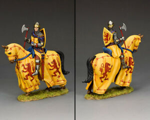 KING & COUNTRY MEDIEVAL KNIGHTS & SARACENS MK200 ROBERT THE BRUCE MOUNTED MIB