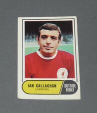 A & BC GUM CARD FOOTBALL ENGLAND 1969 IAN CALLAGHAN LIVERPOOL REDS ANFIELD ROAD