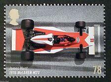 James Hunt in McLaren M23 (1976) Grand Prix image on 2007 Stamp - U/M