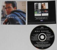 MERLE HAGGARD DOWN EVERY ROAD 1996 CAPITOM PROMO CD<>VERY GOOD