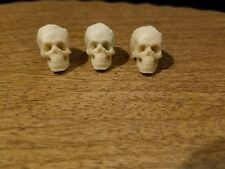 Horror 3 Skulls lot Casted Head Cast 1/12 Scale For Custom Figures