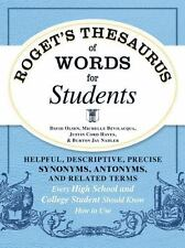 Roget's Thesaurus of Words for Students: Helpful, Descriptive, Precise Synonyms,
