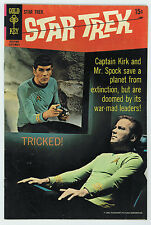 STAR TREK #5 4.0 GOLD KEY PHOTO COVER OFF-WHITE PAGES SILVER AGE