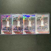 Terence Davis 2019-20 Hoops Premium Stock Silver Prizm Purple Laser Rookie 4 Lot