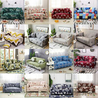 Stretch Sofa Cover Quilted Couch Covers Lounge Protector Slipcover 1/2/3/4Seater