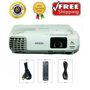 Epson PowerLite 99W Tri-LCD Projector 3000 ANSI HD 1080i HDMI, w/Remote (H578A)