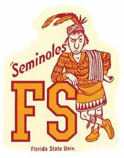 FLORIDA STATE  University  - Seminoles   Vintage-Looking   Travel Decal  Sticker