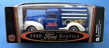 1940 FORD PEPSI-COLA TRUCK 1:18 DIE CAST PREMIERE EDITION GOLDEN WHEEL DIECAST