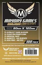 Mayday Games Standard Dixit Clear Board Game Card Sleeves (Gold Pack)