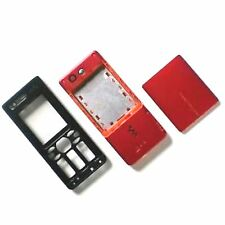 Genuine Sony Ericsson W880 fascia housing Orange/black