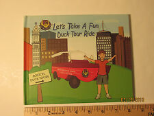 Let's Take A Duck Tour Ride hardcover 11 pages GET FREE SHIPPING