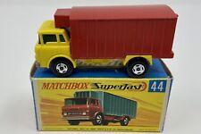 Matchbox Superfast No. 44 G.M.C. Refrigerator Truck in Original Box