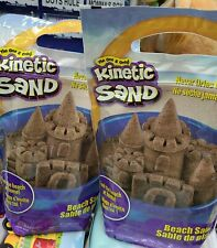 Kinetic Sand The One and Only, 2 x 3lbs Beach Sand packs. 6lbs Total
