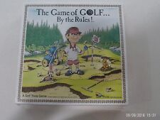 The Game of Golf by the rules - 1989 Board Game Golf Trivia Game - NEW IN BOX
