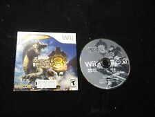 Monster Hunter 3 Demo for Nintendo Wii with Sleeve