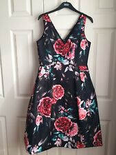 Ladies floral fifties style dress M&S size 12 BNWT (other sizes available)