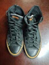 Womens 9.5 Harley Davidson leather high tops