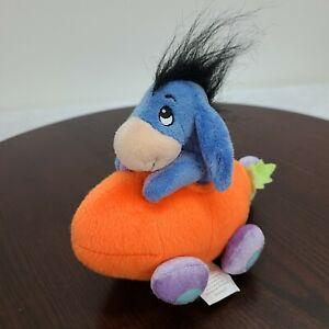 Disney Eeyore Donkey Carrot Car Plush Winnie The Pooh Friend Easter Stuffed Toy
