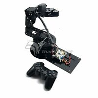 6DOF Full Set Mechanical Arm Mechanical Robot Clamp Claw w/ Servos & Controller