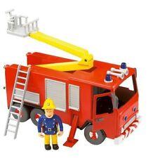 Fireman Sam Motor fricción acción Jupiter Camión De Bomberos + grande Sam Figura Juguete