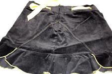 Morbid Threads Mini Skirt Black Yellow NWT Small