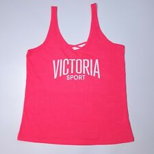 Victorias Secret Pink Athletic Top Size M 12-14 Workout Sports Running Gym Yoga