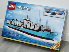 Lego Creator 10241 Maersk Line Triple E Model Container Vessel Mc Kinney Moller