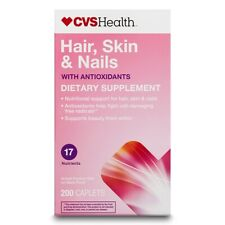CVS Health Biotin & 17 Nutrients  Hair, Skin & Nail Health with Antioxidants 200