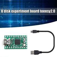 Teensy 2.0 USB AVR Development Board Keyboard Mouse W/line Disk Experiment M7F4