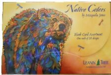 Native Colors Blank Leanin' Tree Greeting Cards Assortment 20 Cards