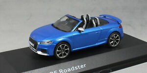 iScale Audi TT RS Roadster in Ara Blue 5011610532 1/43 NEW