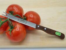 Pfiffikus - Tomatenmesser 21 cm mit Säge - Holzgriff genietet Solingen Qualität