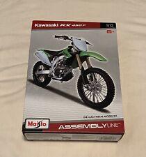 Maisto Kawasaki KX 450F Scale 1/12 Assemble DIY Motorcycle Bike Model Toy Age 8+